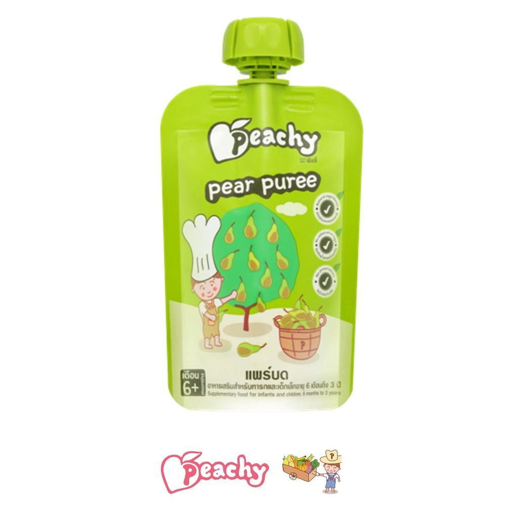 Harga-Peachy Pear Puree 6 bulan keatas