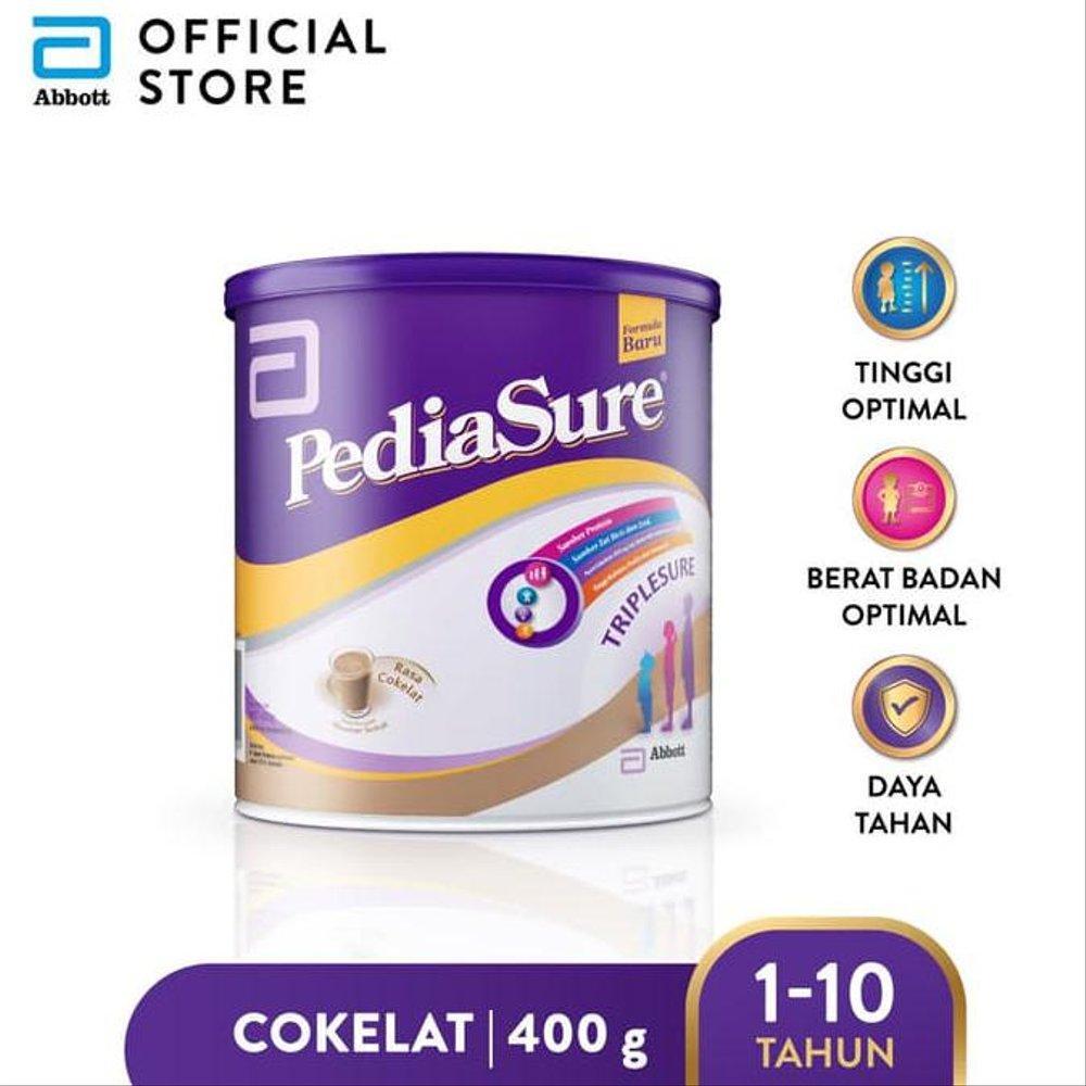 Harga-Pediasure Coklat 400 g (1-10 tahun) Susu Formula Pertumbuhan Anak - Kids Formula