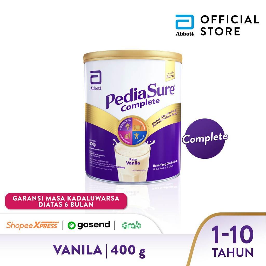 Harga-Pediasure Complete Vanila 400 g (1-10 tahun) Susu Pertumbuhan Anak - Kids Milk Powder