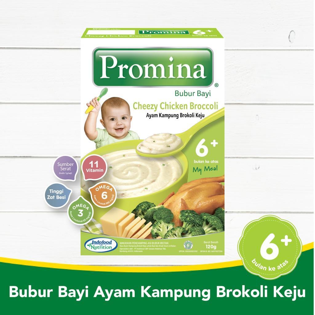 Harga-Promina BC Ayam Kampung Brokoli Keju Box 120 g