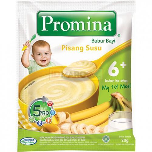 Harga-Promina BC Banana Milk Sachet 20 g