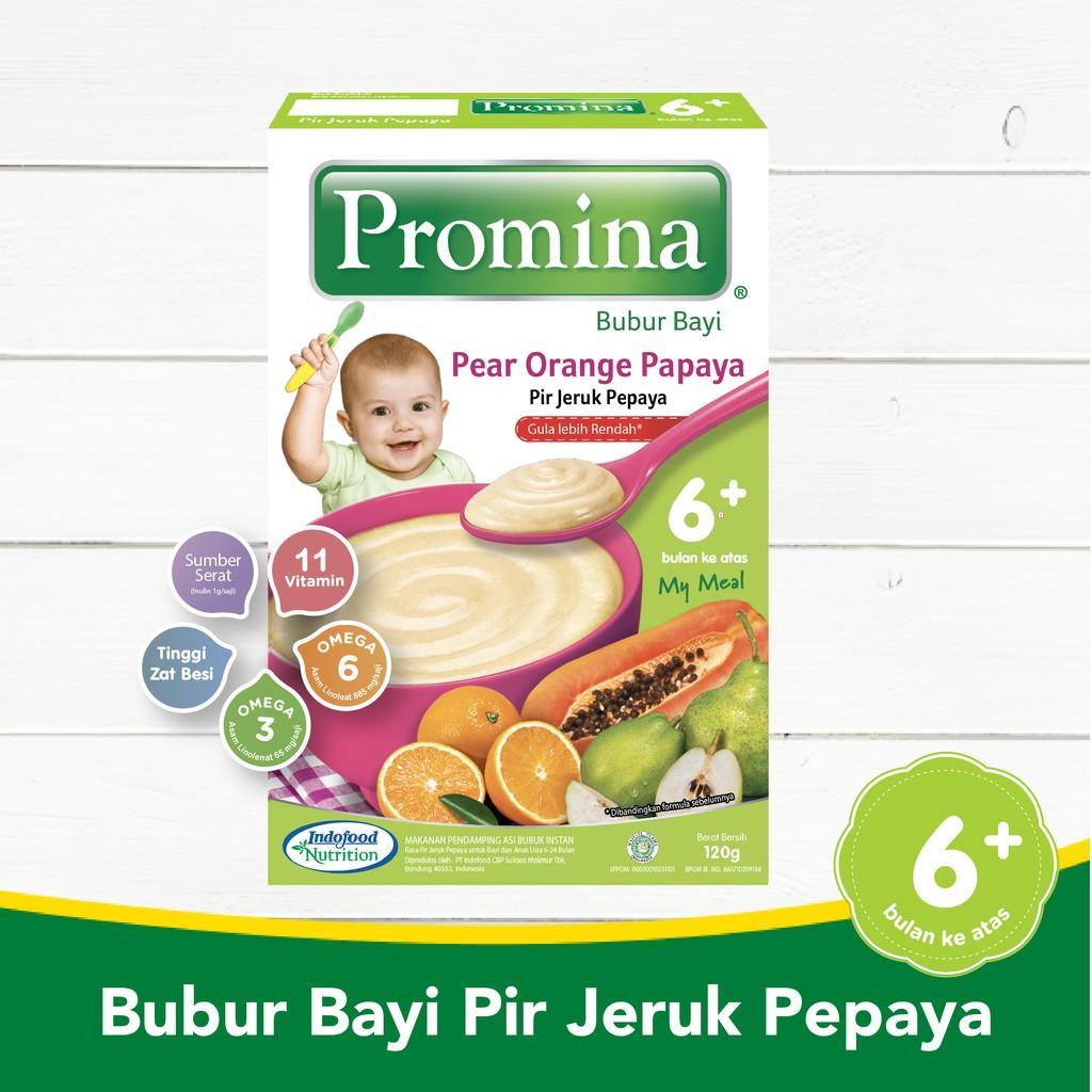 Harga-Promina BC Pir Jeruk Pepaya Box 120 g
