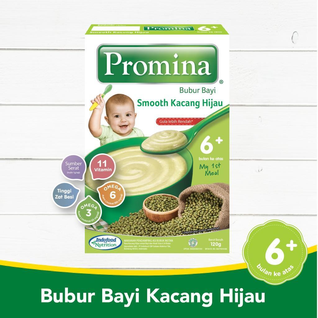 Harga-Promina BC Smooth Kacang Hijau Box 120 g