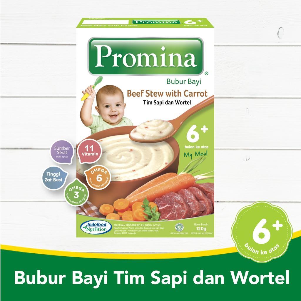 Harga-Promina BC Tim Sapi Wortel Box 120 g
