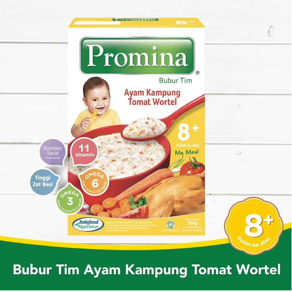 Harga-Promina BTI Ayam Kampung Tomat Wortel Box 100 g x 1Pcs