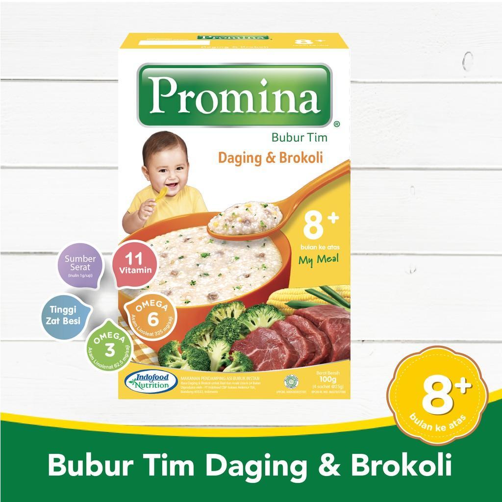 Harga-Promina BTI Daging & Brocoli Box 100 g