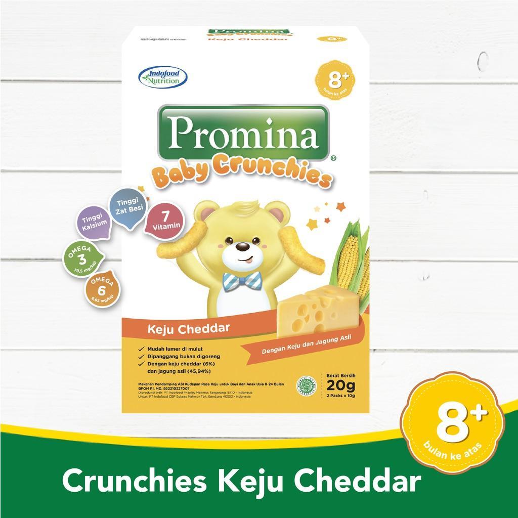 Harga-Promina Baby Crunchies Keju Cheddar 20 g