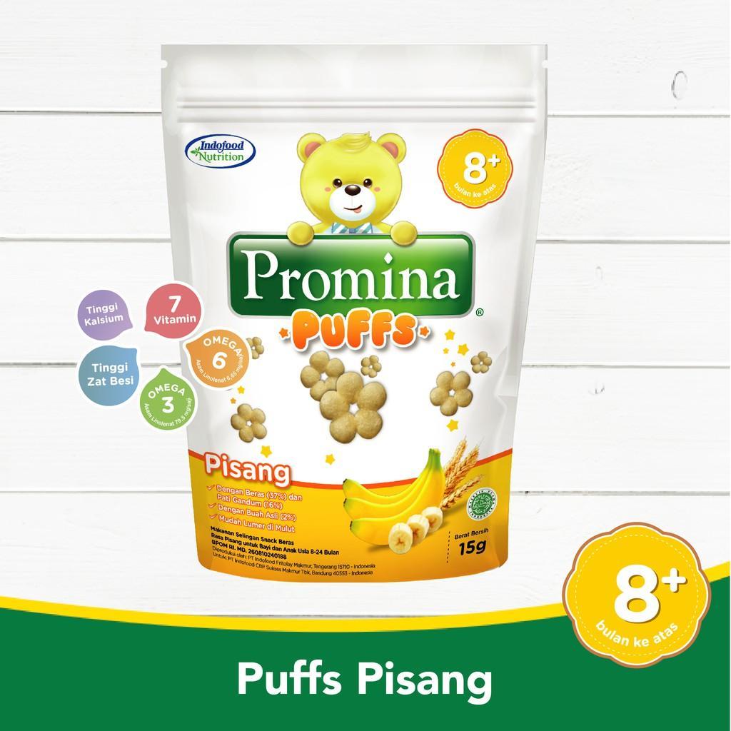 Harga-Promina Puffs Pisang 15 g