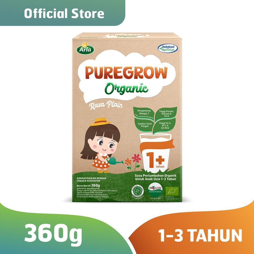 Harga-Pure grow Organic - Susu Formula Organik 1-3 Tahun 360 gr Girl