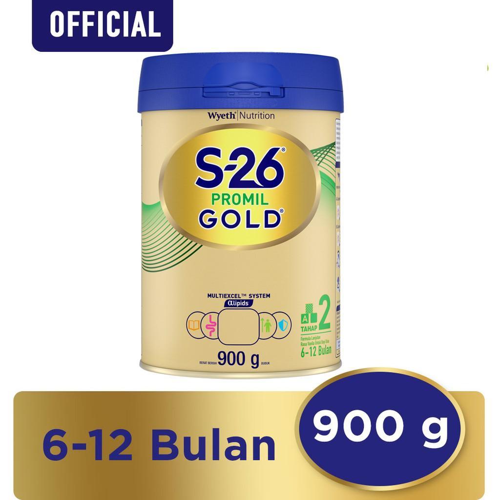 Harga-S-26 Promil GOLD Tahap 2 Vanila Susu Pertumbuhan Anak Usia 6-12 Bulan