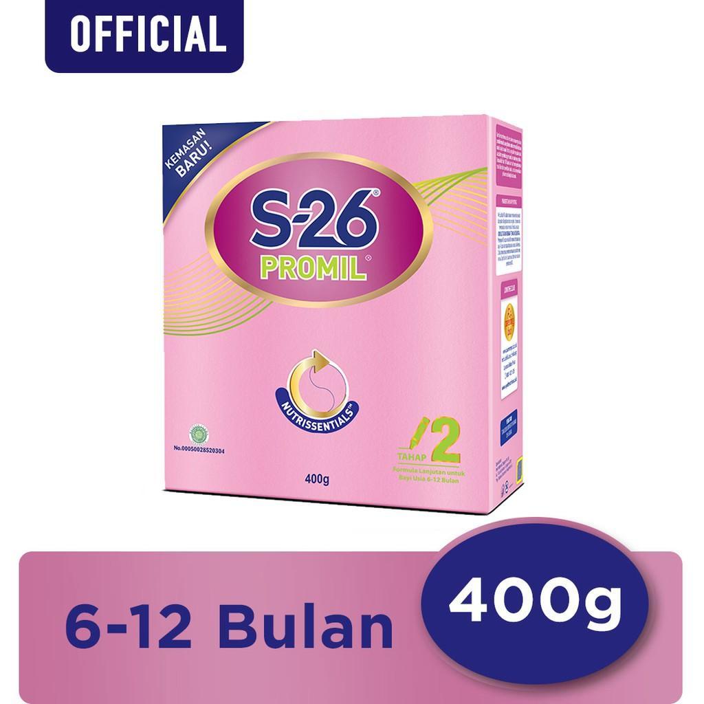Harga-S-26 Promil Tahap 2 Susu Formula Lanjutan Usia 6-12 Bulan Kotak 400 gr