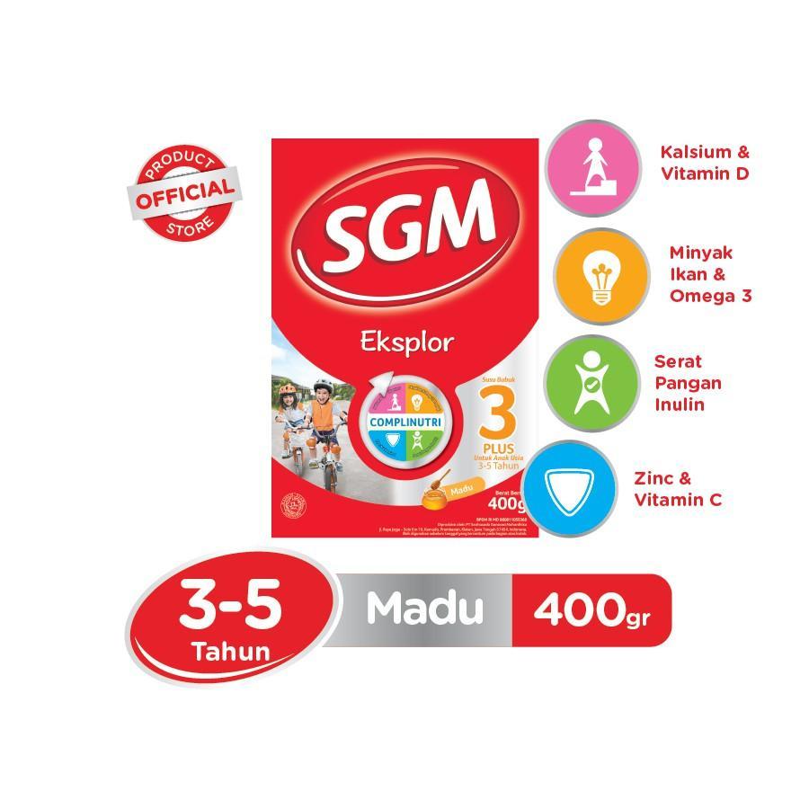 Harga-SGM Eksplor Complinutri 3+ Madu 400 gr