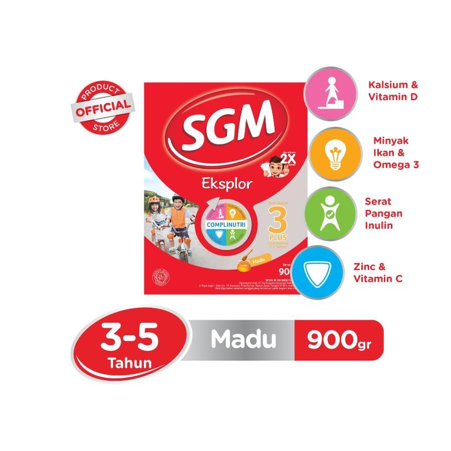 Harga-SGM Eksplor Complinutri 3+ Madu 900 gr