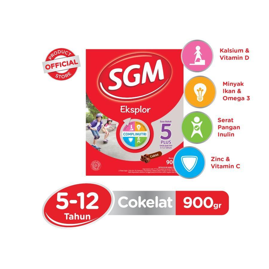Harga-SGM Eksplor Complinutri 5+ Coklat 900 gr