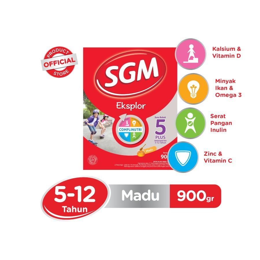 Harga-SGM Eksplor Complinutri 5+ Madu 900 gr