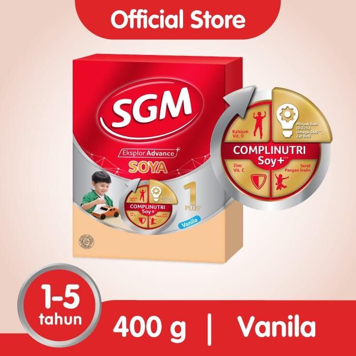 Harga-SGM Eksplor Soya 1-5 - Vanila - 400 gr
