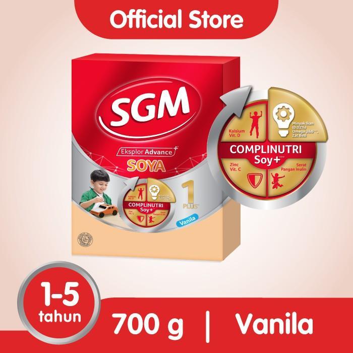 Harga-SGM Eksplor Soya 1-5 - Vanila - 700 gr