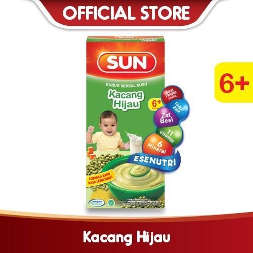 Harga-SUN Bubur Sereal Susu Kacang Hijau 120 g Box