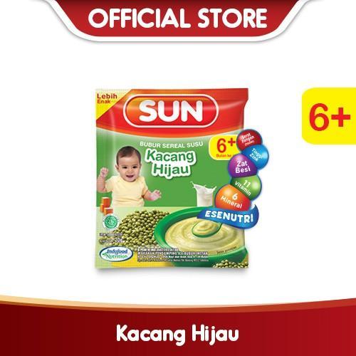 Harga-SUN Bubur Sereal Susu Kacang Hijau Sachet 20 g