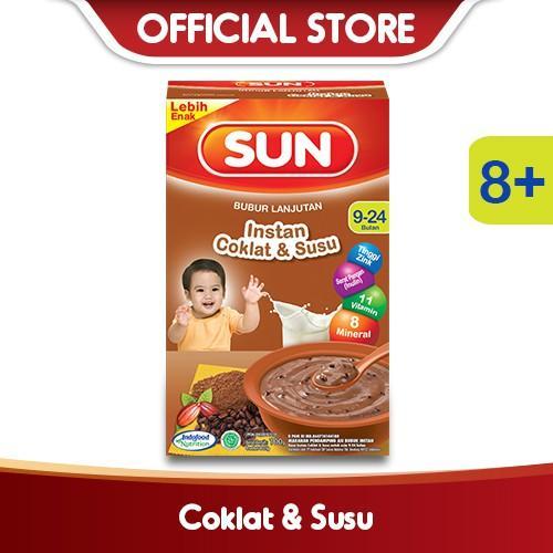 Harga-SUN Tim Instant Coklat Susu Box 100 g