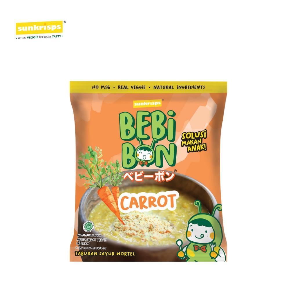 Harga-SUNKRISPS Bebibon Carrot (Wortel)