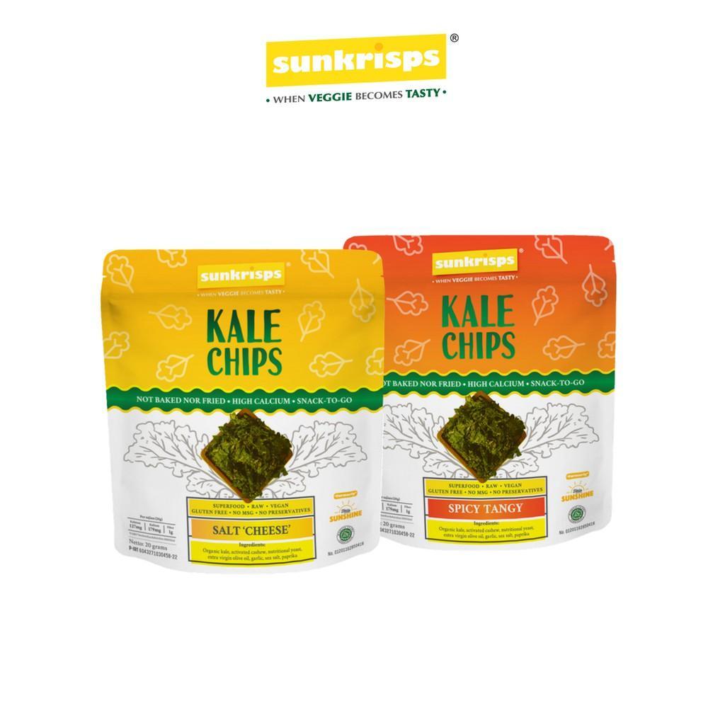 Harga-SUNKRISPS Kale Chips Combo
