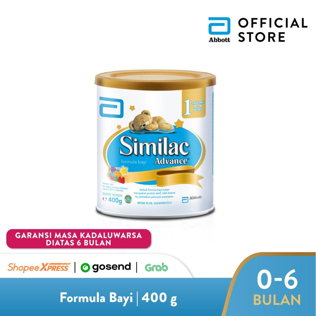 Harga-Similac Advance 1 400 g (0-6 bulan) Susu Formula Bayi - Infant Milk Formula