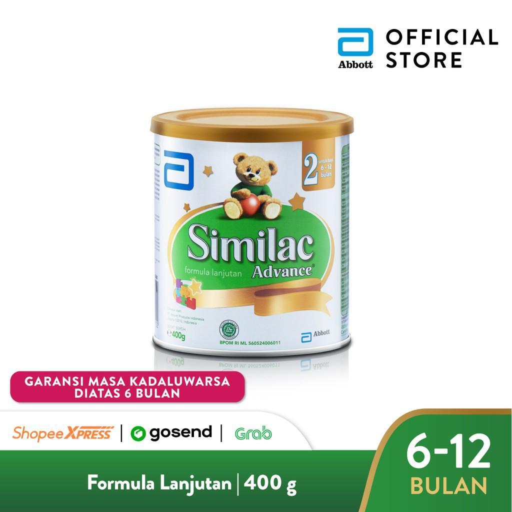 Harga-Similac Advance 2 400 g (6-12 bulan) Susu Formula Bayi Lanjutan - Infant Milk Formula