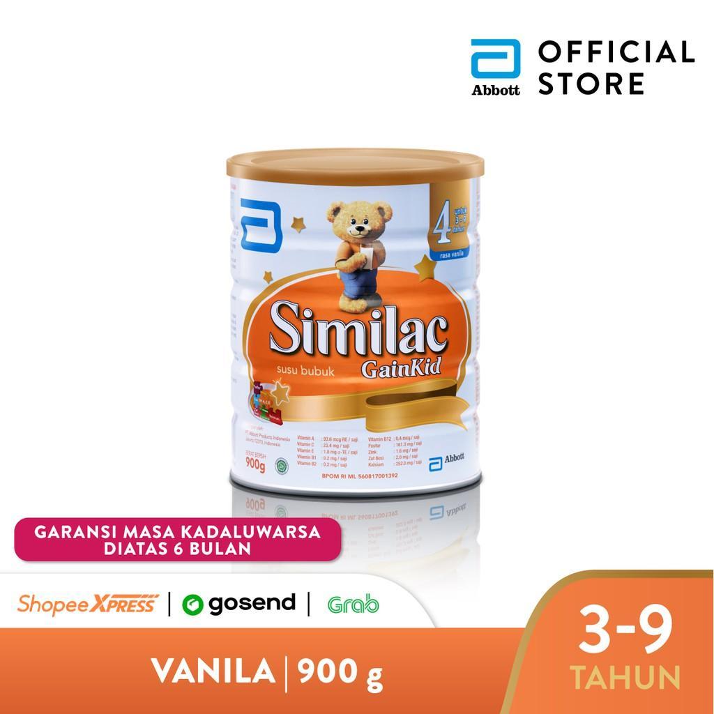 Harga-Similac GainKid 900 g (3-9 tahun) Susu Pertumbuhan - Milk Powder