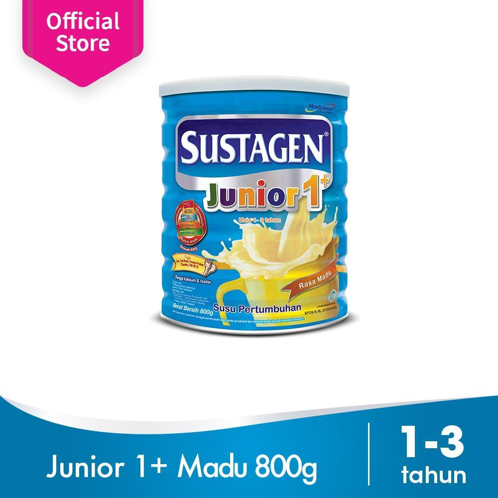 Harga-Sustagen Junior 1+ Madu 800 gr