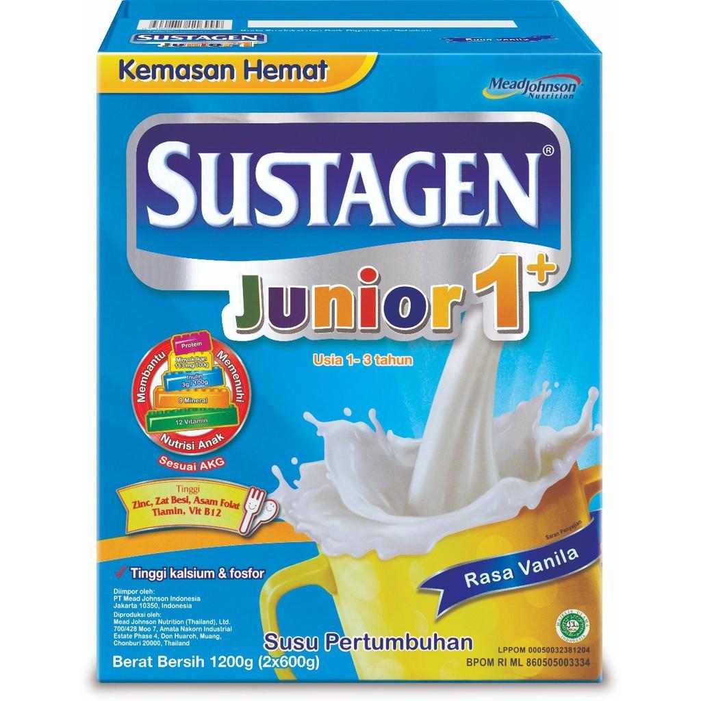 Harga-Sustagen Junior 1+ Vanila 1200 gr