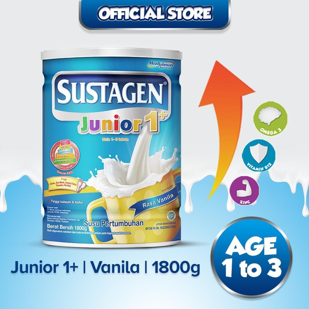Harga-Sustagen Junior 1+ Vanila 1800 g