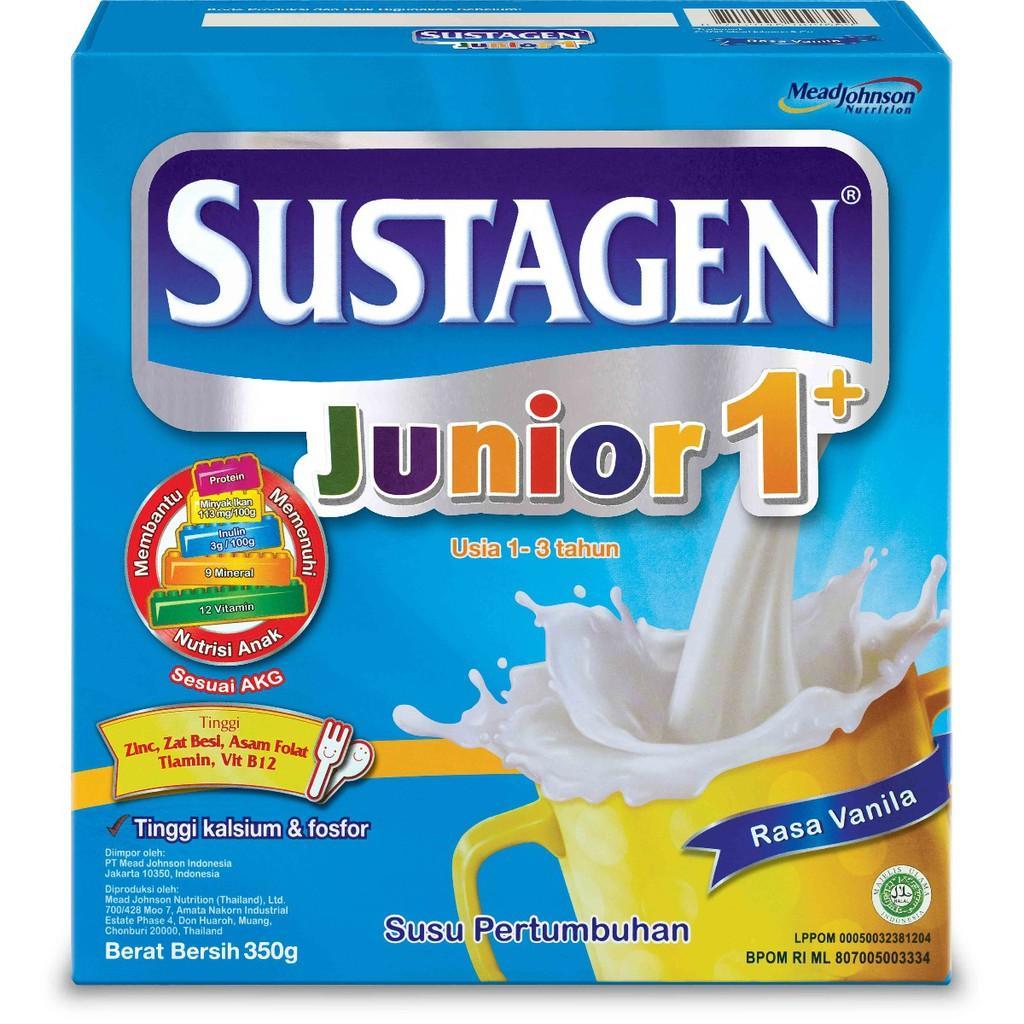 Harga-Sustagen Junior 1+ Vanila 350 gr