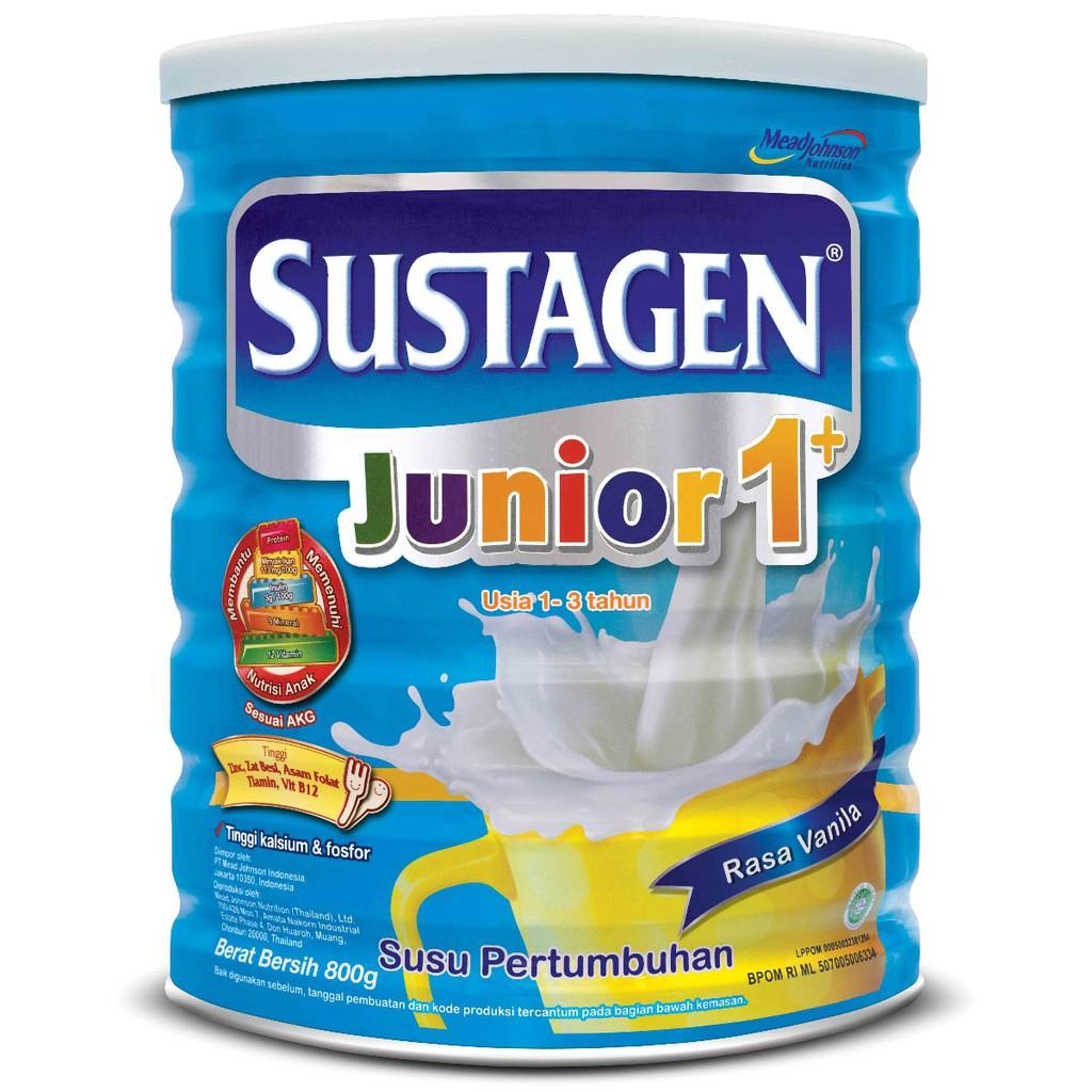 Sustagen Junior 1+ Vanila 800 gr