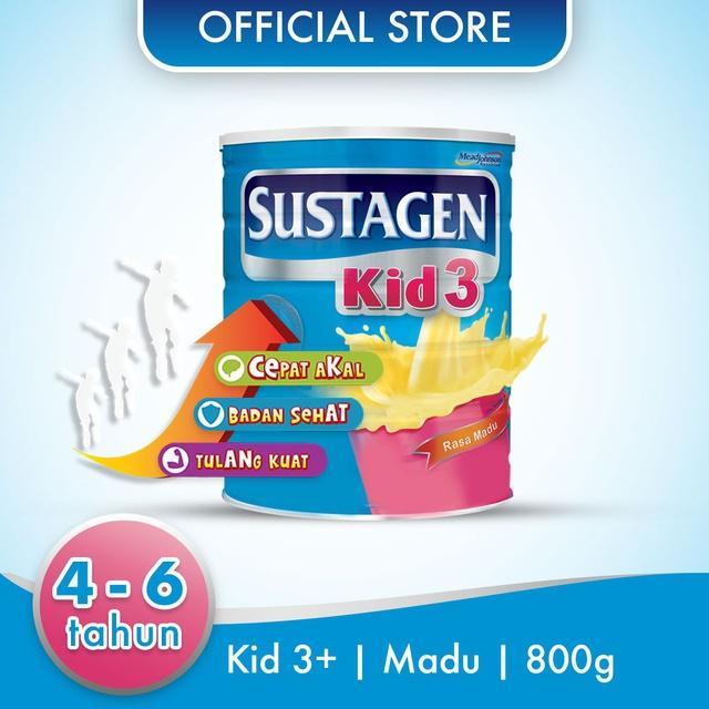 Harga-Sustagen Kid 3+ Madu 800 gr