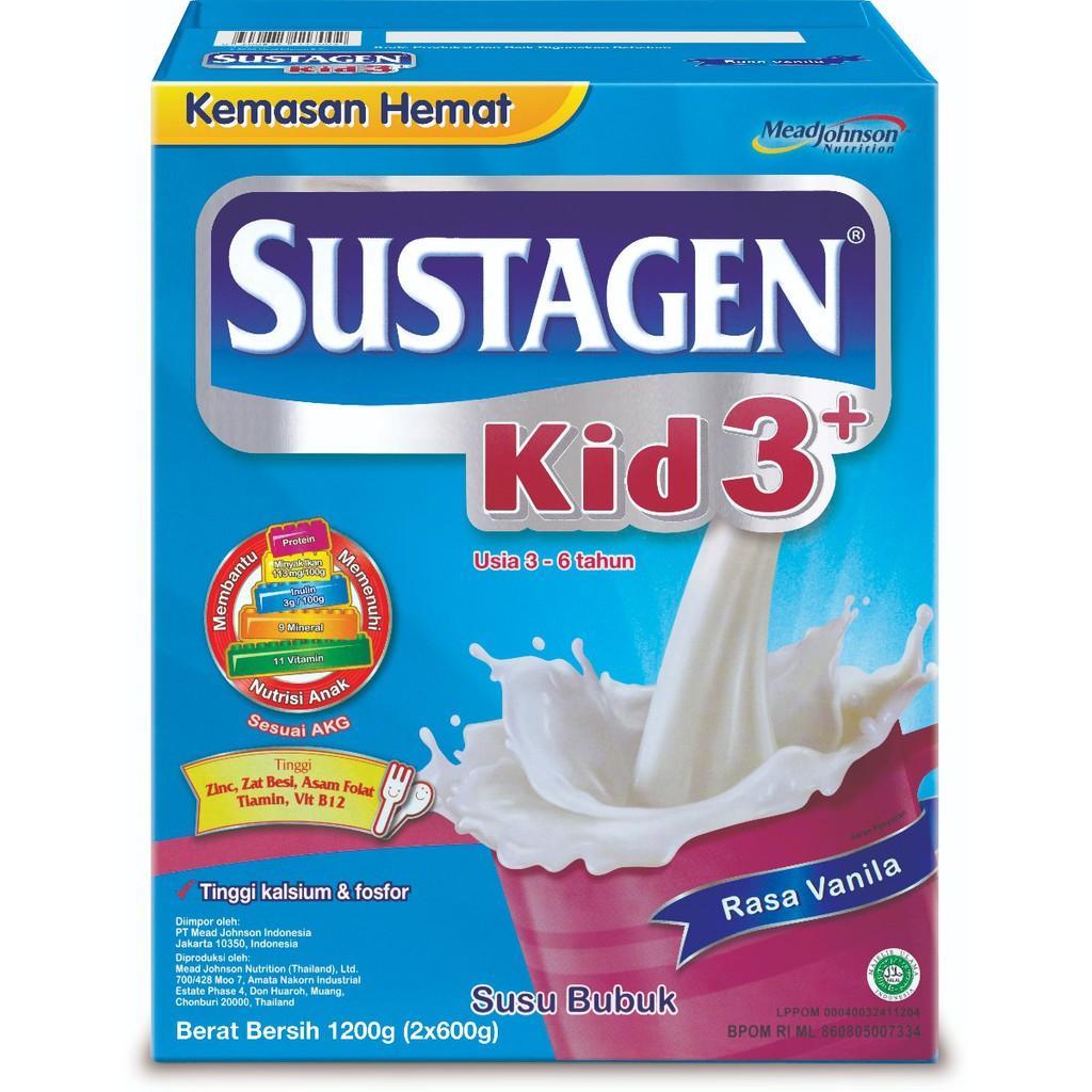 Harga-Sustagen Kid 3+ Vanila 1200 gr