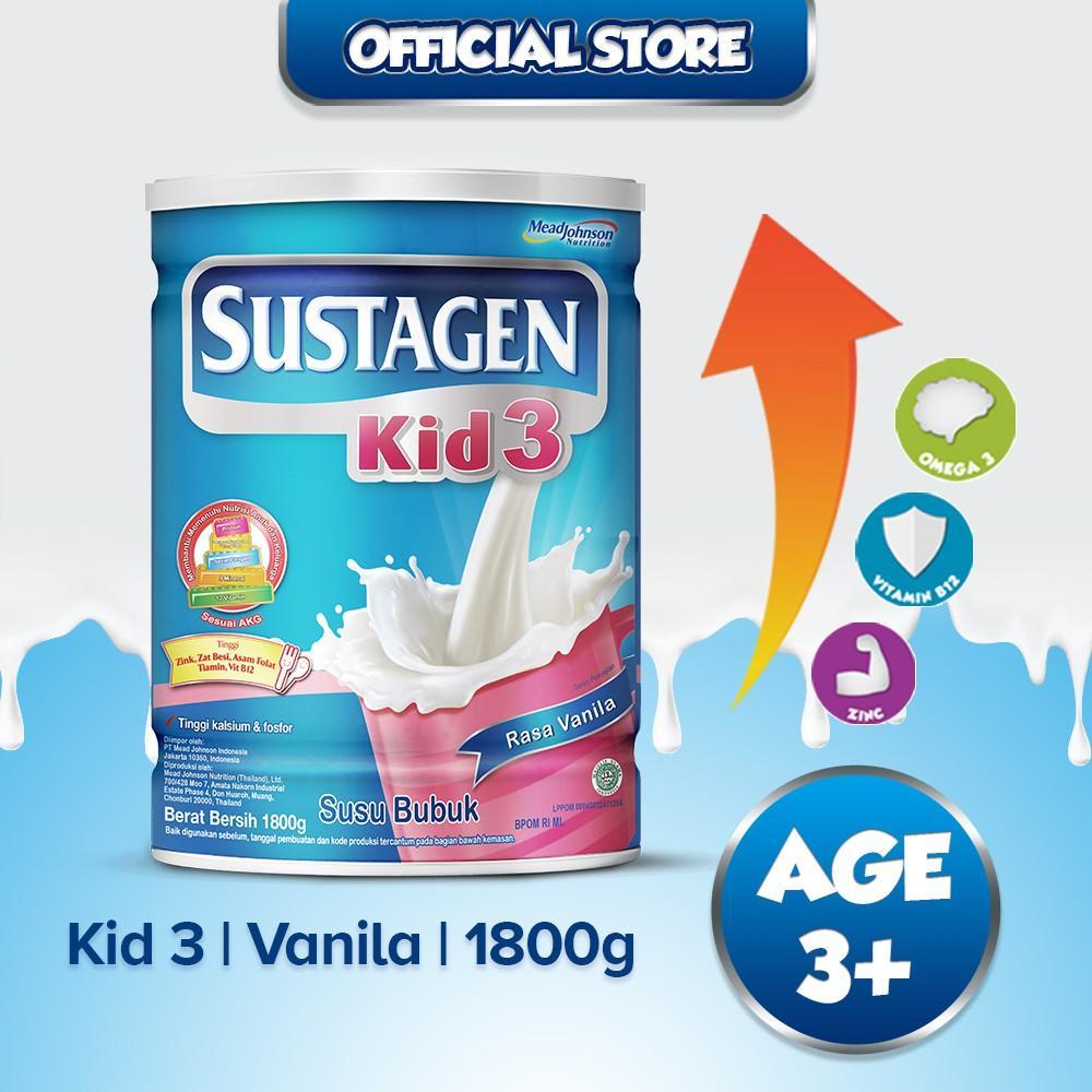 Harga-Sustagen Kid 3+ Vanila 1800 gr