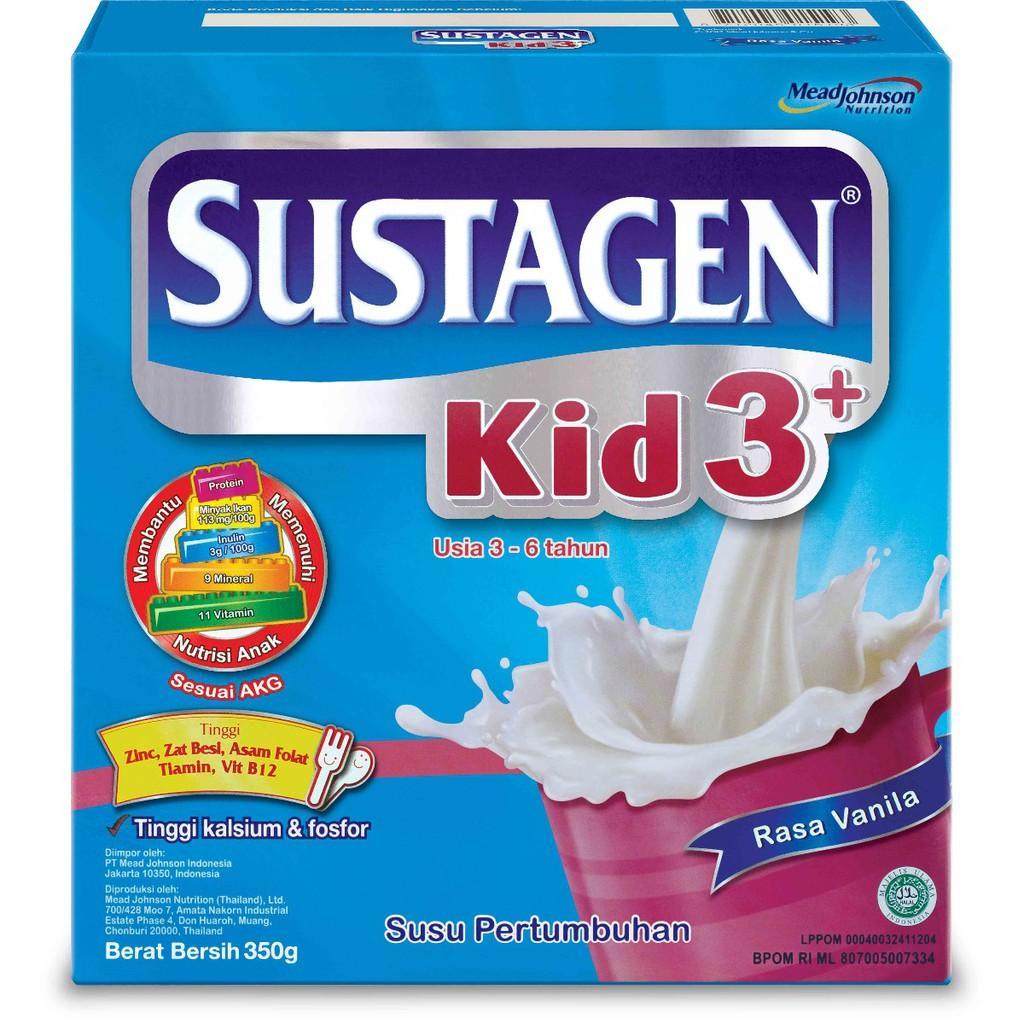 Harga-Sustagen Kid 3+ Vanila 350 gr