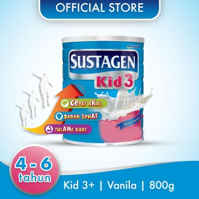Harga-Sustagen Kid 3+ Vanila 800 gr