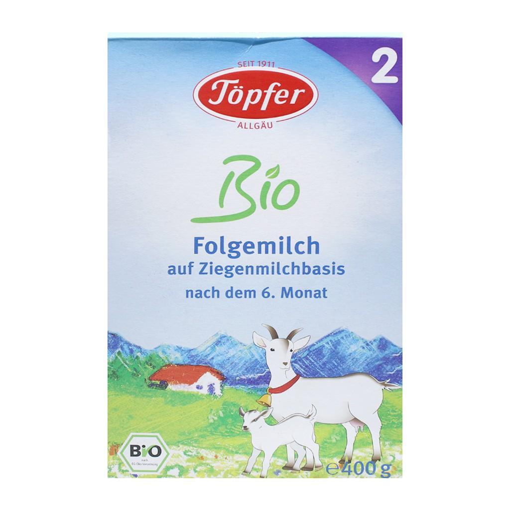 Harga-Topfer Lactana Organic Goat Milk 2 400 gr - Susu Kambing Organik - Susu Bayi - Susu Formula
