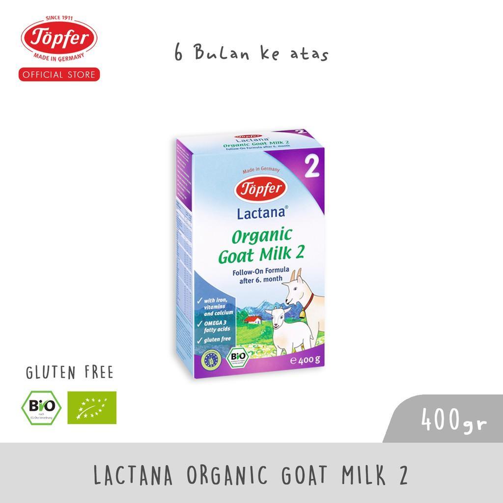 Harga-Topfer Lactana Organic Goat Milk