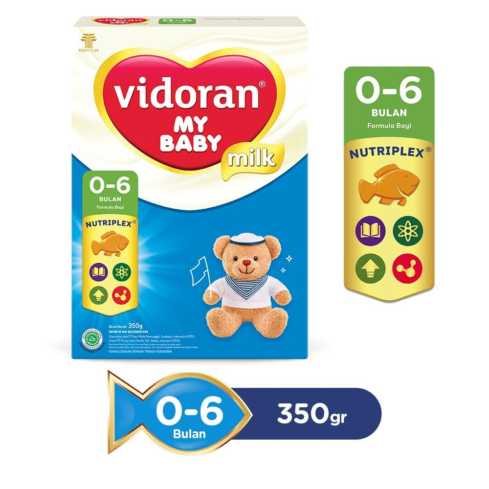 Harga-Vidoran My Baby Nutriplex Susu Formula 0 - 6 bulan 350 g