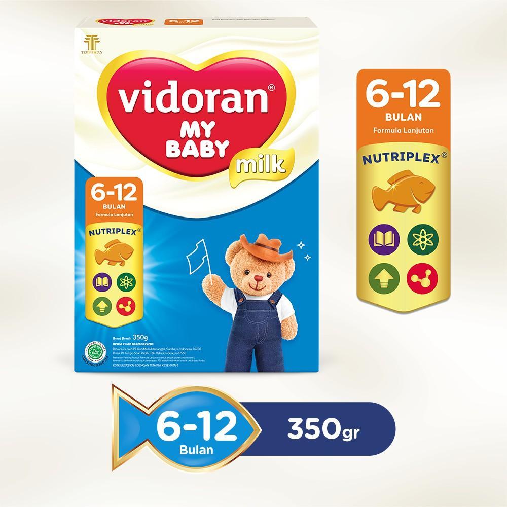 Harga-Vidoran My Baby Nutriplex Susu Formula 6 - 12 bulan 350 g